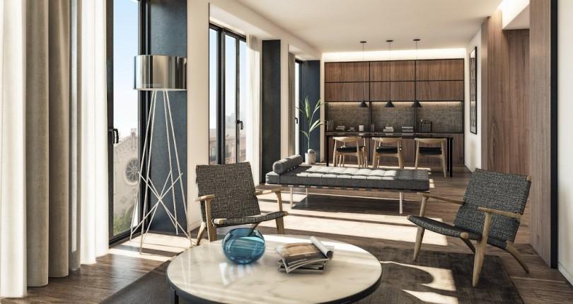 INBISA Construcción ejecuta para ARC Properties la reforma integral del edificio AM49 en Barcelona