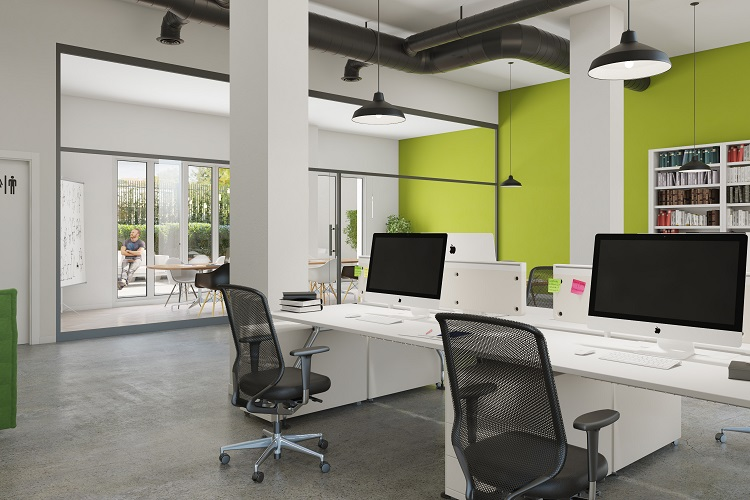 Locales y oficinas disponibles en Els Jardins de Can Mercader.